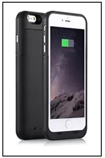 Zuzo Rubberized best battery case for iPhone 7