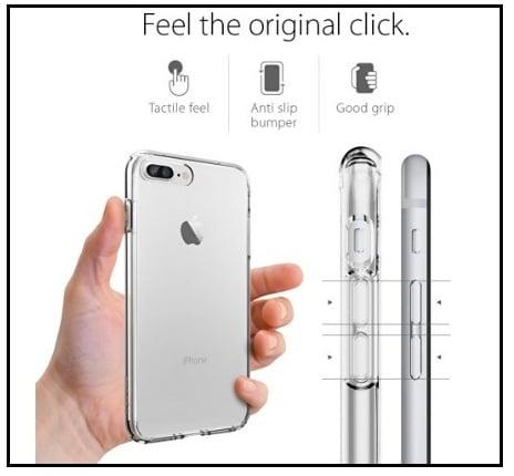 best spigen iphone 7 plus clear case 2016