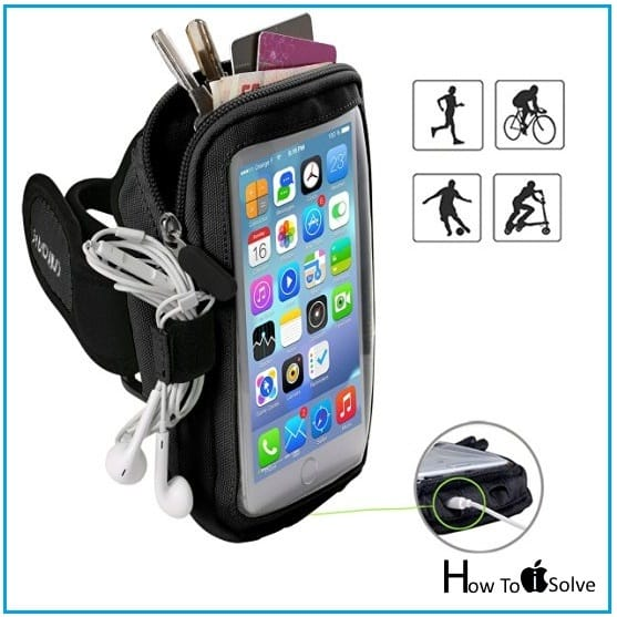 iPhone 7 Armband Case for Pocket less outdoor work out
