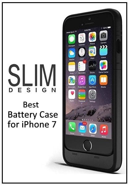 top iPhone 7 Battery rechargable Case
