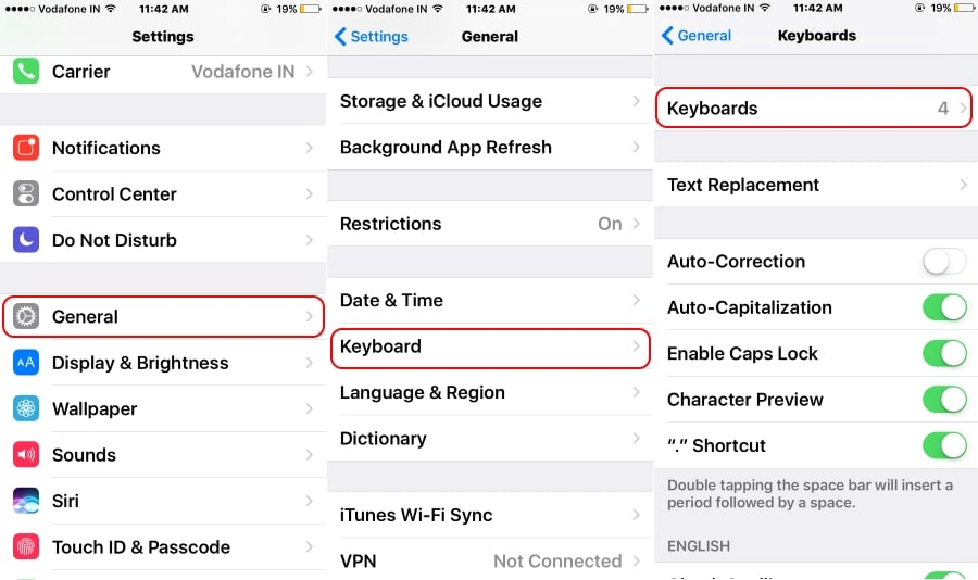 1 Add Third-Party Keyboard Google Gboard in iPhone copy