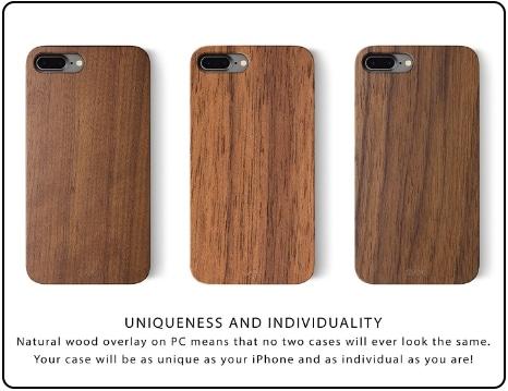 1 iPhone 7 Wooden case iATO 2016 Deals