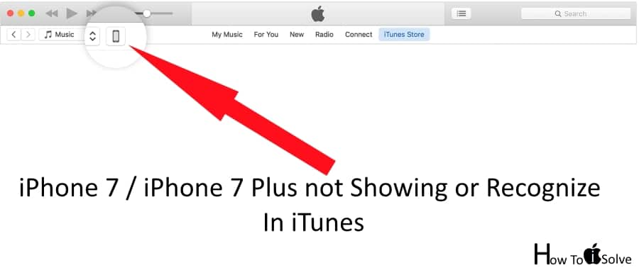 1 iPhone 7 Plus or iPhone 7 Plus not showing in iTunes fixed