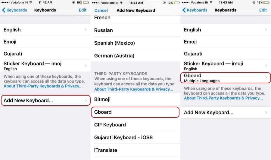 2 Add installed Keyboard in keyboard pane on iPhone copy