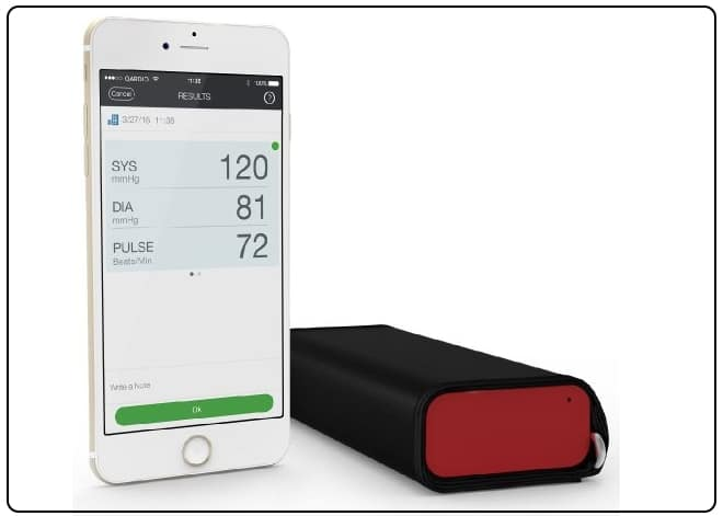 Qardio Blood Preasure monitor for iPhone
