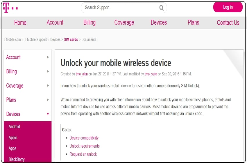 Unlock iPhone 7 or 7 Plus from T Mobile copy