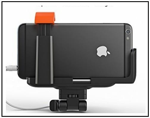 Selfie World monopod for Apple iPhone and Android Phone
