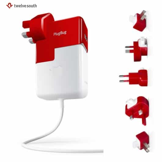 1 Macbook charger adapter for global use