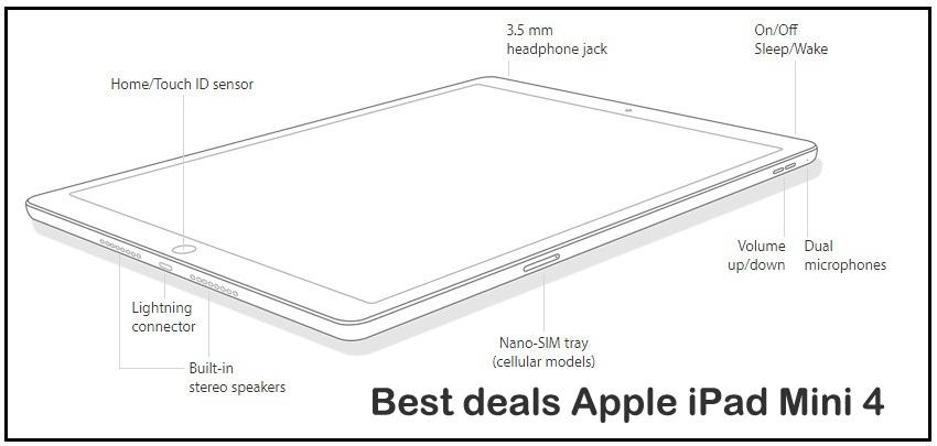 Apple iPad Mini 4 live deals december