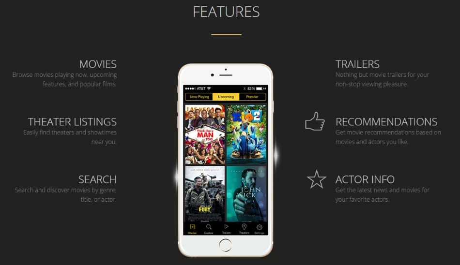 1 Best app for movie reviews and Ratings on iPhone iPad