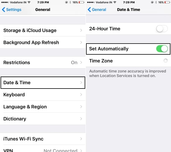 1 Set Date Time automatically on iPhone and iPad (1)