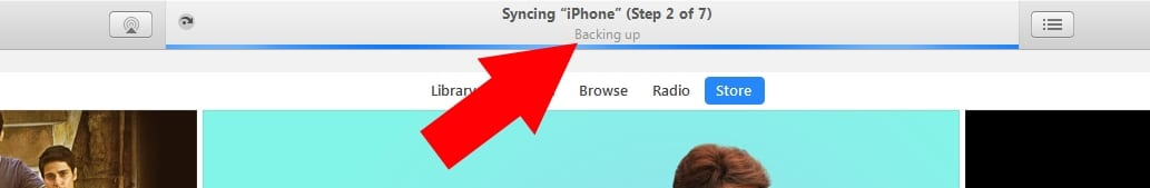 2 Backup to iTunes before restore iPhone iPad and iPod Touch