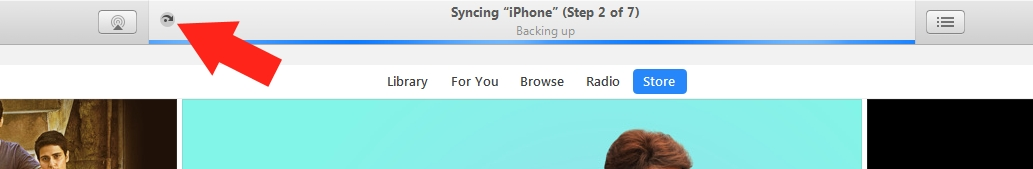 2 Temporary Stop auto backup in iTunes