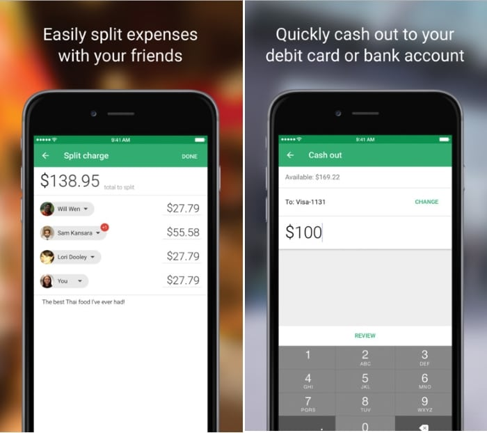 3 Cash out or make payment with Google Wallet iPhone