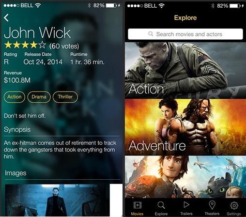 3 Movie reviews and info App