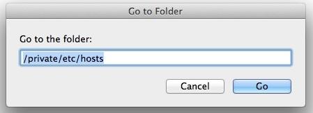5 Host file in iTunes folder
