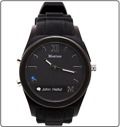 7 Martian Watches like Apple watch