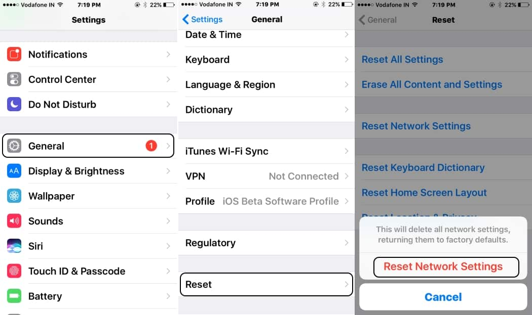 7 Reset Network settings on iPhone 7 and 7 Plus (1)