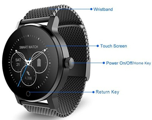 Fitness Tracker Smart watch for Men and Women
