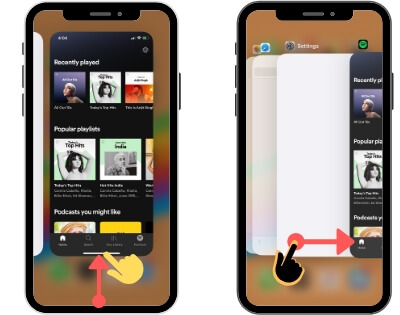 Switch Apps on iPhone