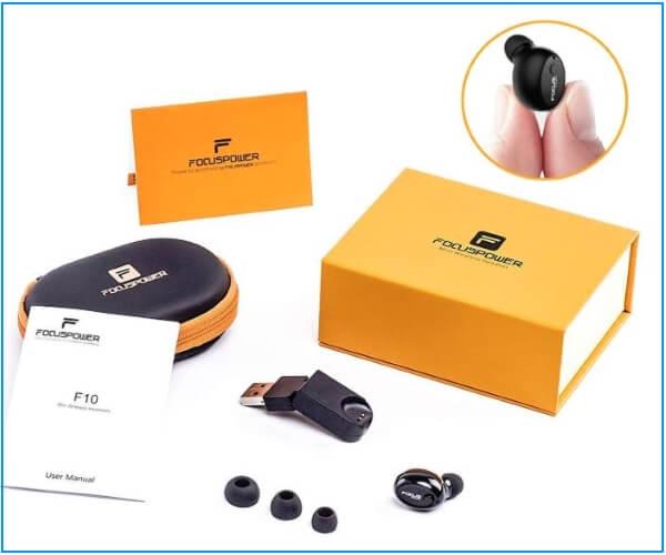 Focus Power Bluetooth Smart Earbuds as Airpods Alternatives