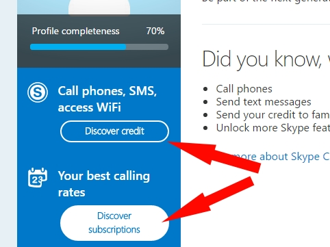 Cancle Active Subscription on Skype