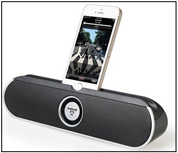 Inteck bluetooth speaker dock for iPhone 7 Plus