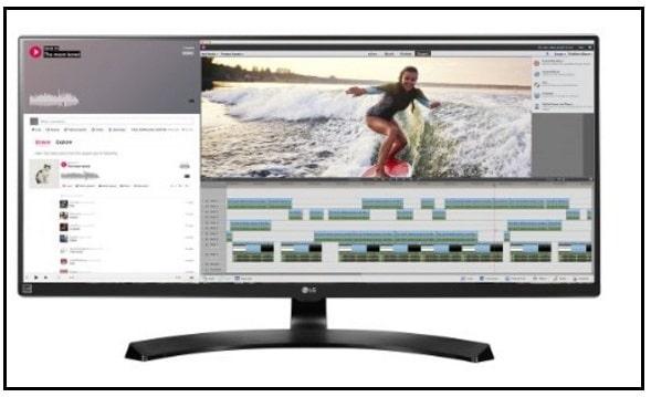 LG large monitor for Mac Mini