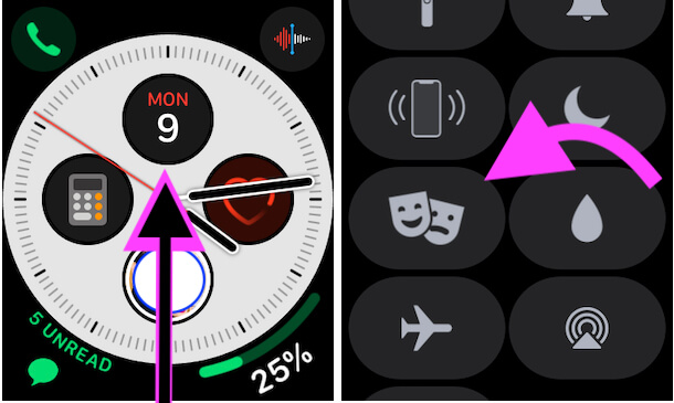 Turn off Theater Mode on Apple watch