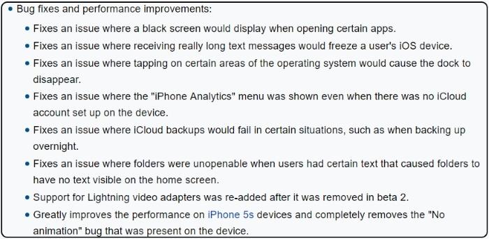 Beta 3 Publick iOS 10.3 improvments