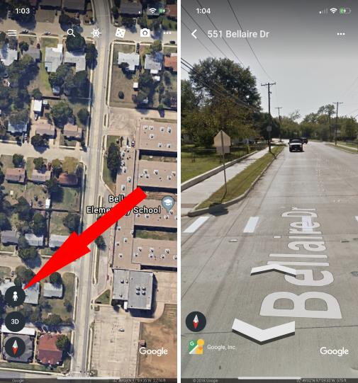 1 Google Map 3D icon on iPhone
