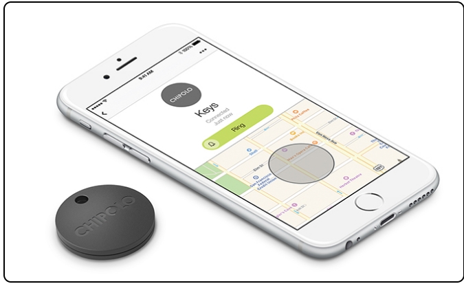 Chipolo real tracking system for Valuables and stuff