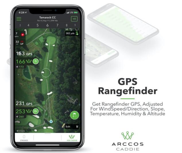 Arccos Caddie Smart Sensors Featuring Golf