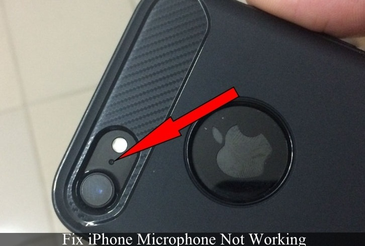 how to fix iPhone Plus Microphone not Working