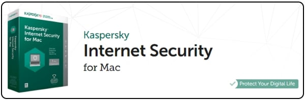 Kaspersky data and internet security for MacOS