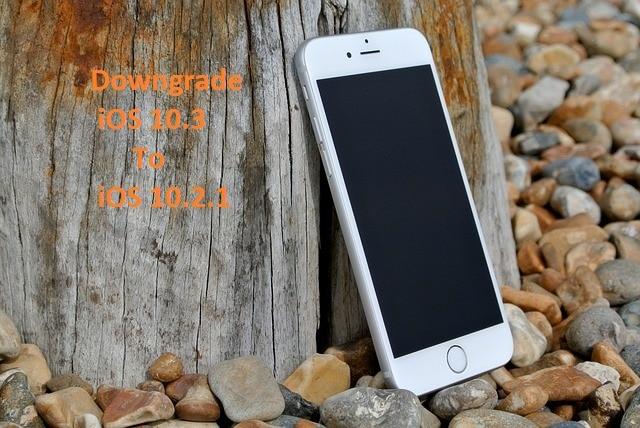 Downgrade iOS 10.3 to 10.2.1