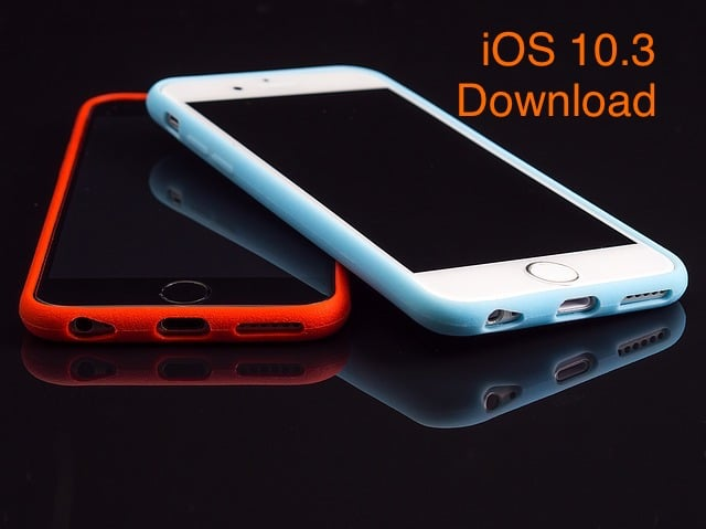 iOS 10.3 Download link for iPhone iPad or iPod Touch
