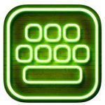Neon LED keyboard