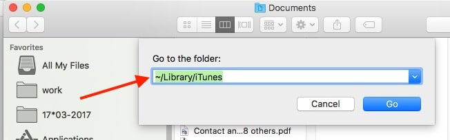 3 Paste command on Mac finder