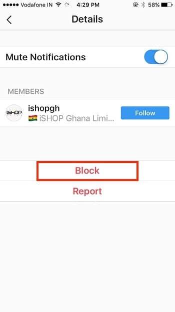 6 notification block on instagram iPhone iPad app
