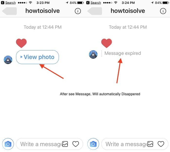 7 Image Disappeared on instagram