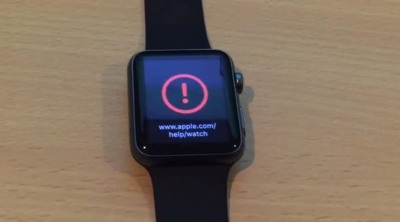 Method Apple Watch Exclamation Mark After Software Update