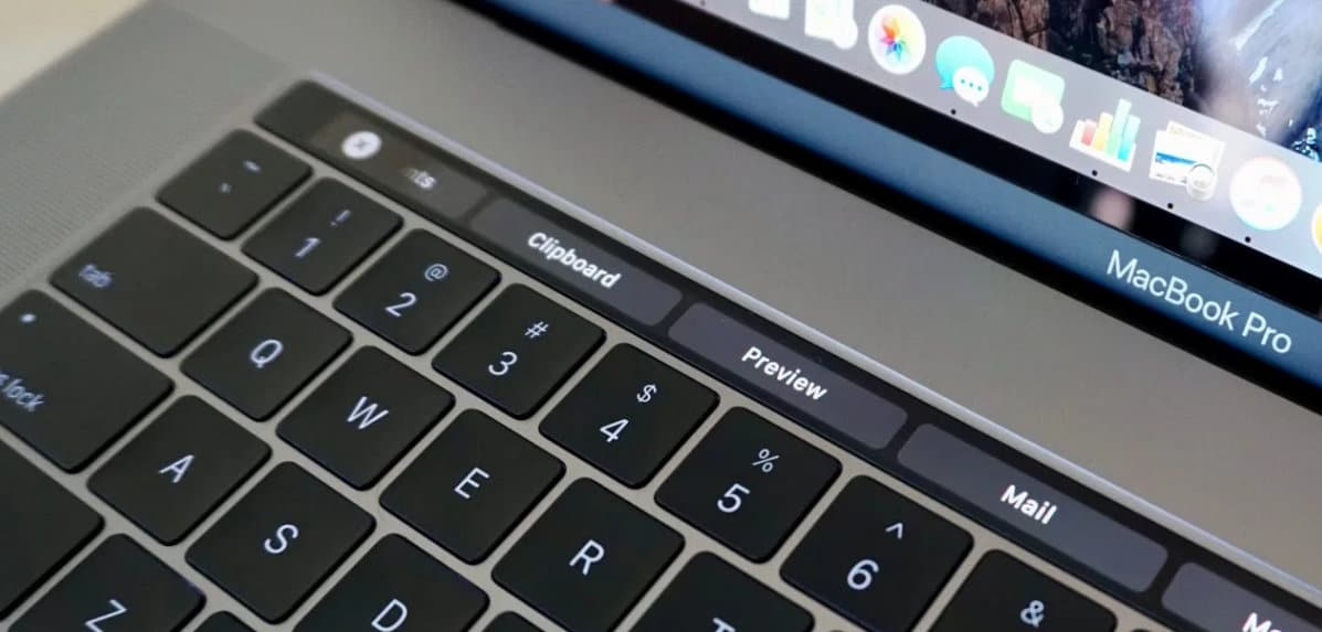 How to take a screenshot of the Touch bar on MacBook Pro