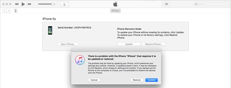 1 Downgrade iOS 11 to iOS 10 on iPhone