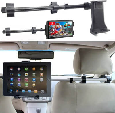 ChargerCity Car Seat Headrest Mount Holder