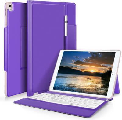 IVSO Detachable Bluetooth Keyboard Case 10.5''