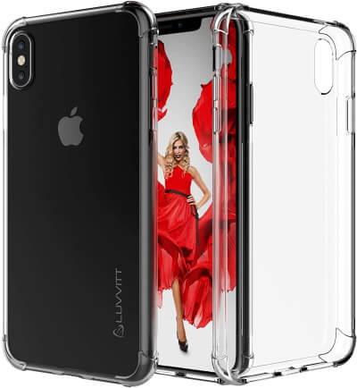 Luvvitt Apple iPhone XS Max Clear Case