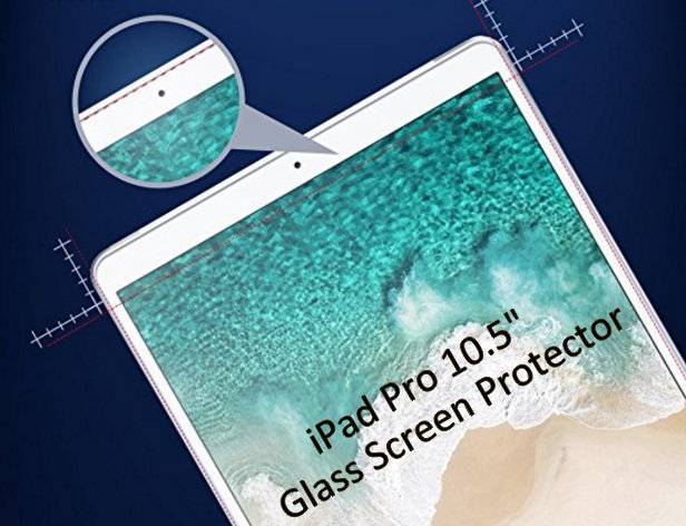 Skinomi is the best Tempered Glass Shield protector for iPad Pro 10.5 inch 2017
