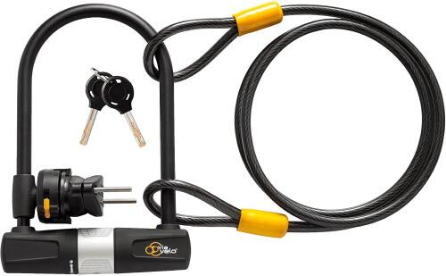 Via Velo U Lock with Cable
