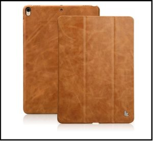 iPad pro 10.5 leather case cover